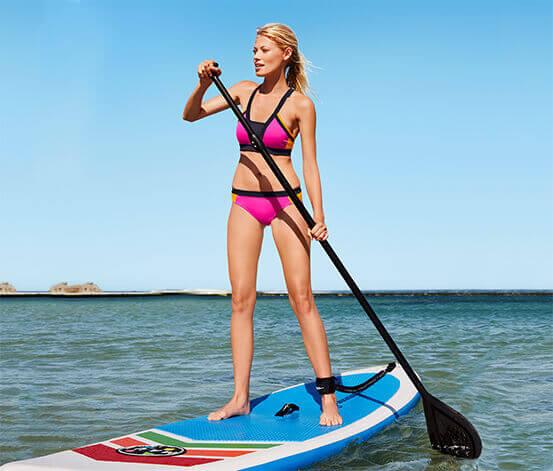 сап серфинг и девушки