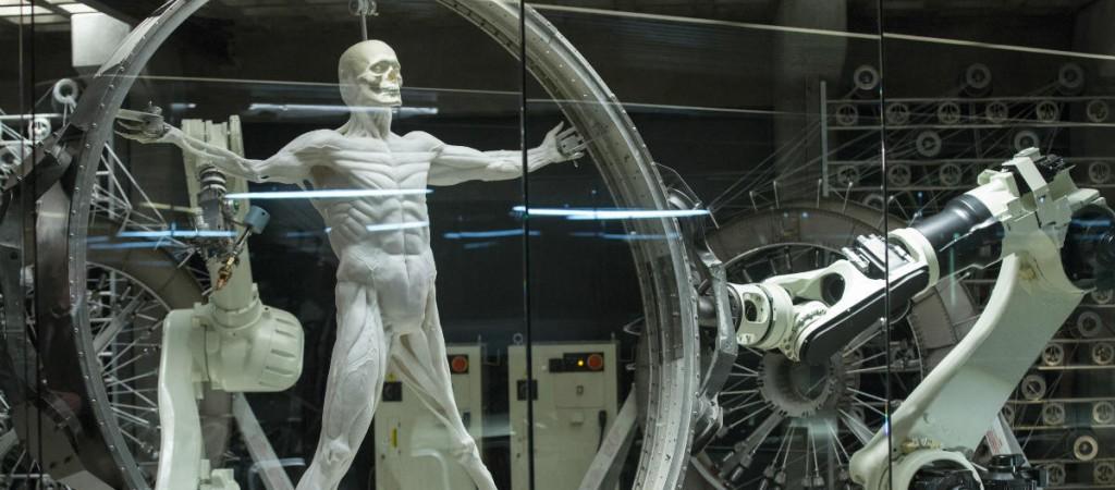 кадр из Западного Мира: лаборатории