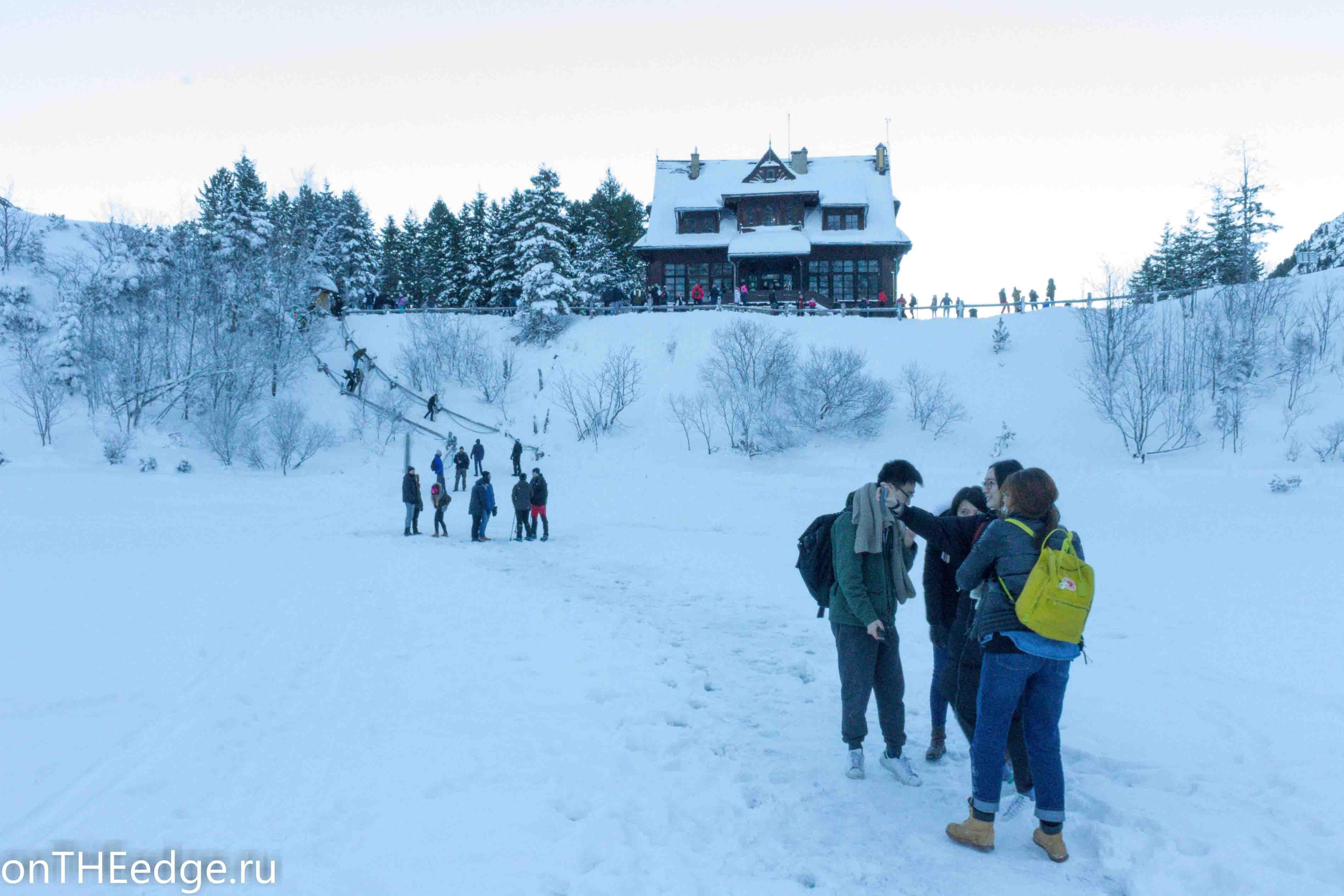 китайцы и зима