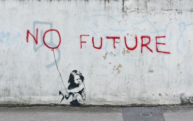 нет будущего бэнкси фото