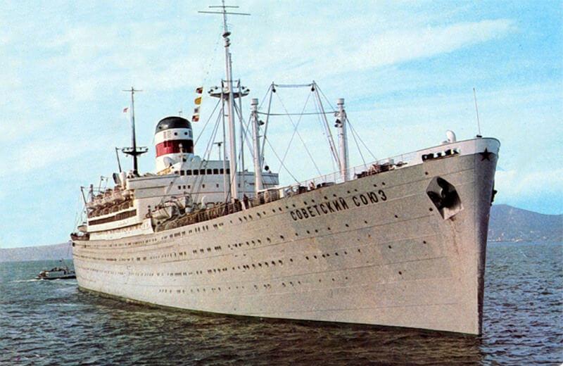 лайнер советский союз