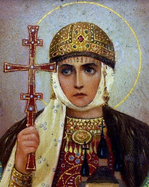 Ольга великая княгиня киевская
