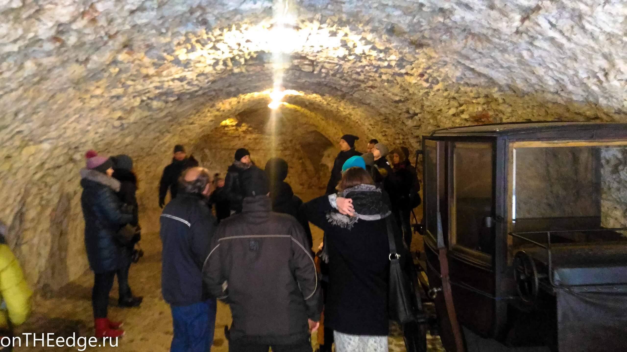 тоннель оравского замка