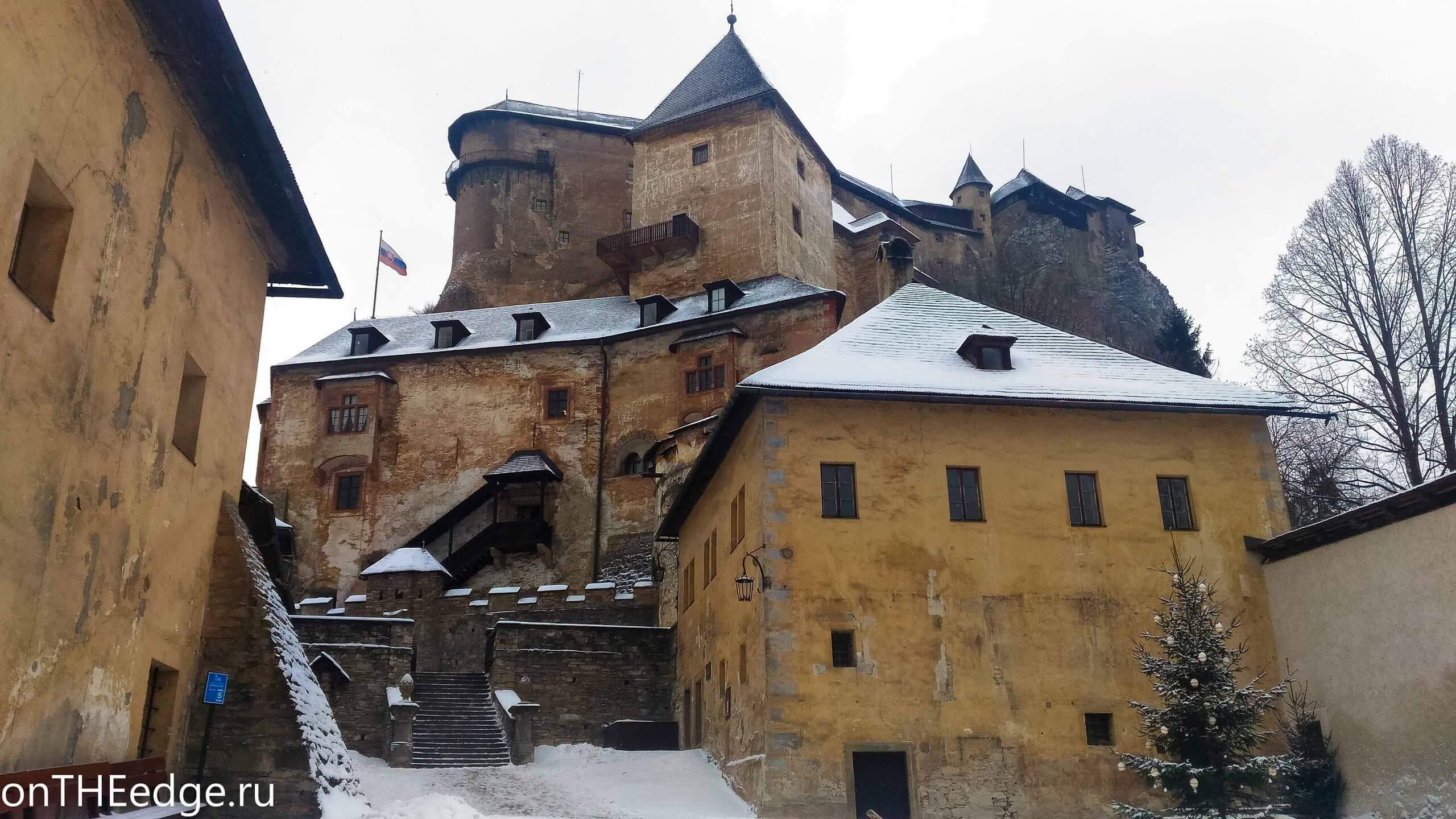оравский замок фото
