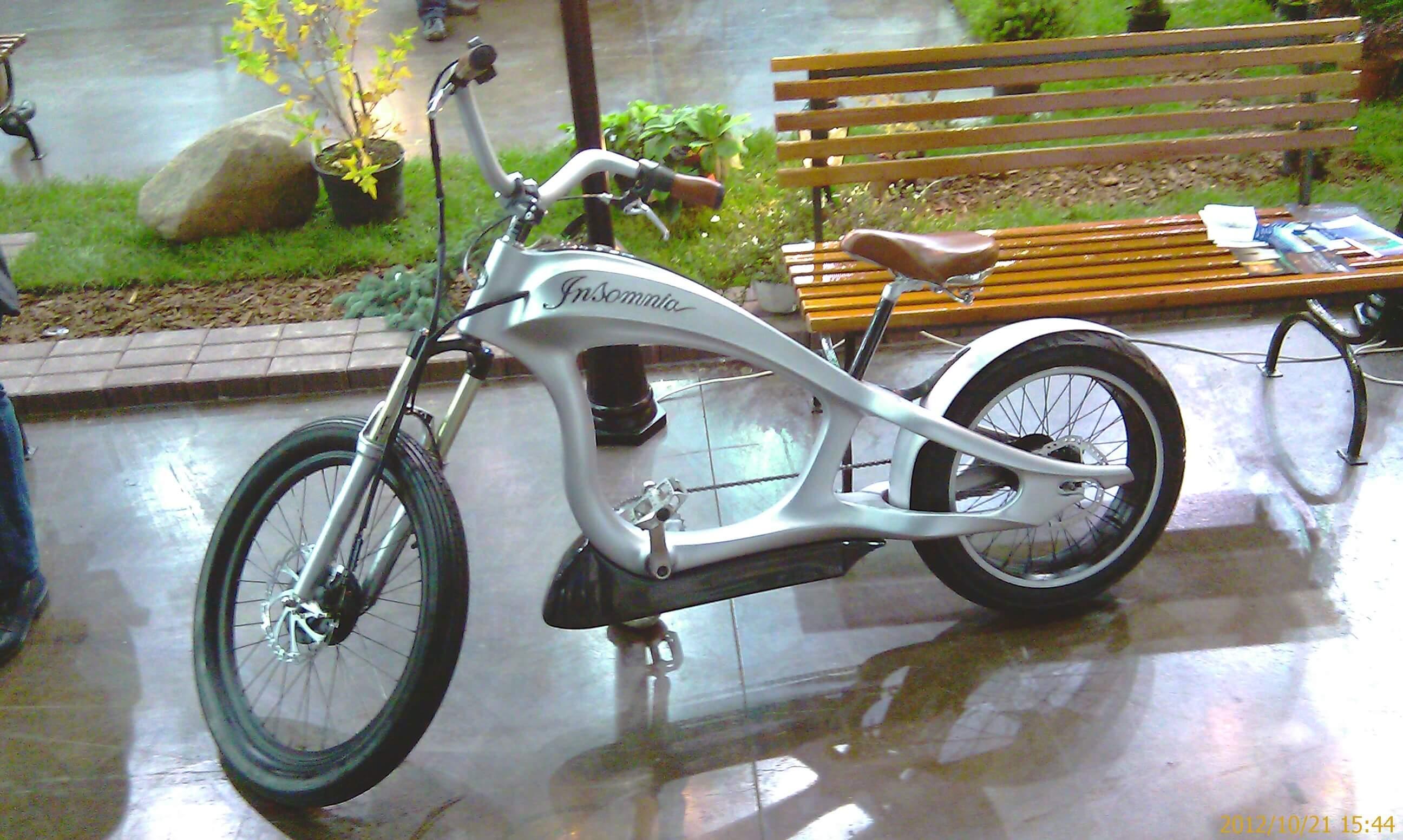 электрический велосипед для города