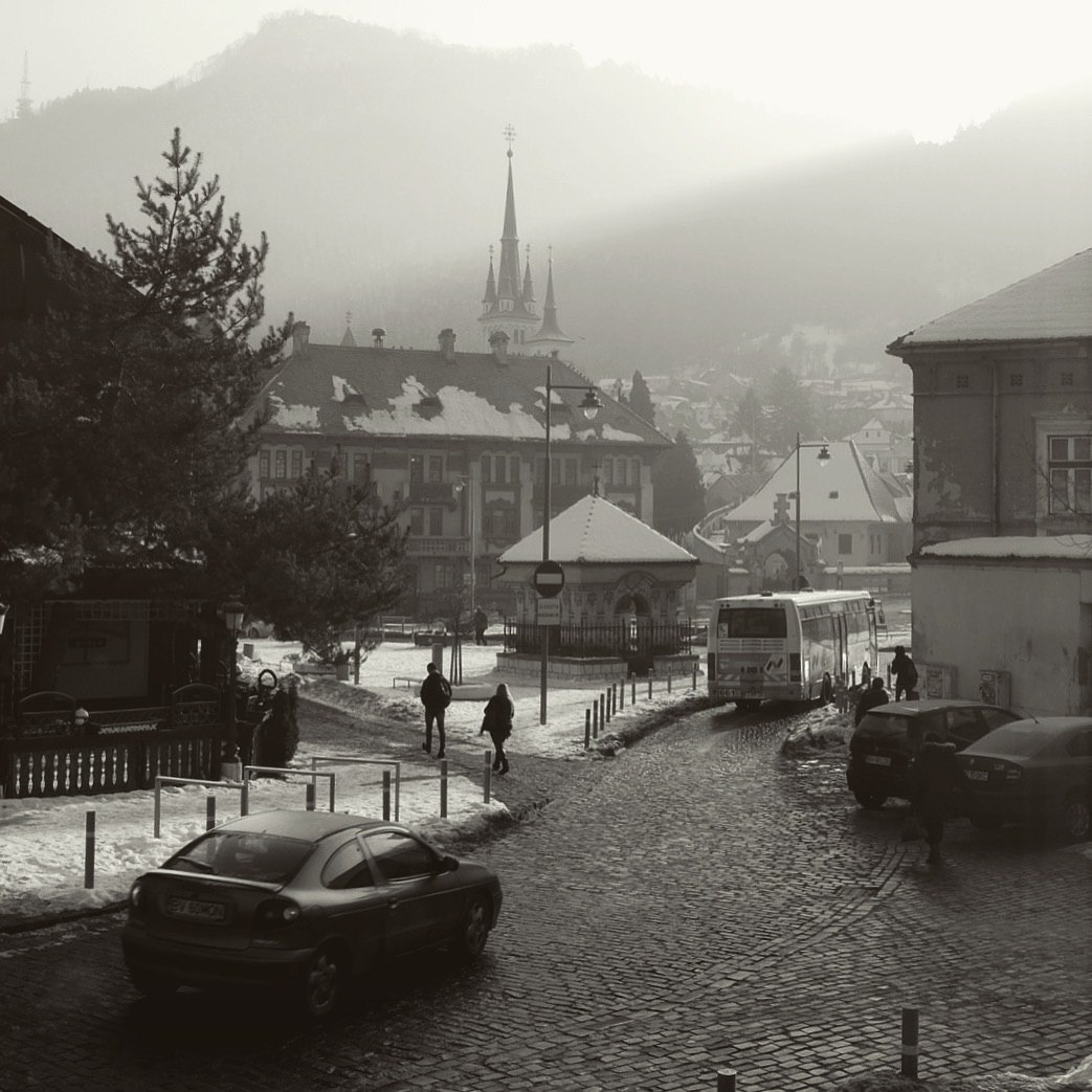 старый город в румынском Брашове