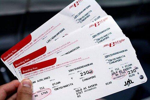 посадочные талоны на самолет