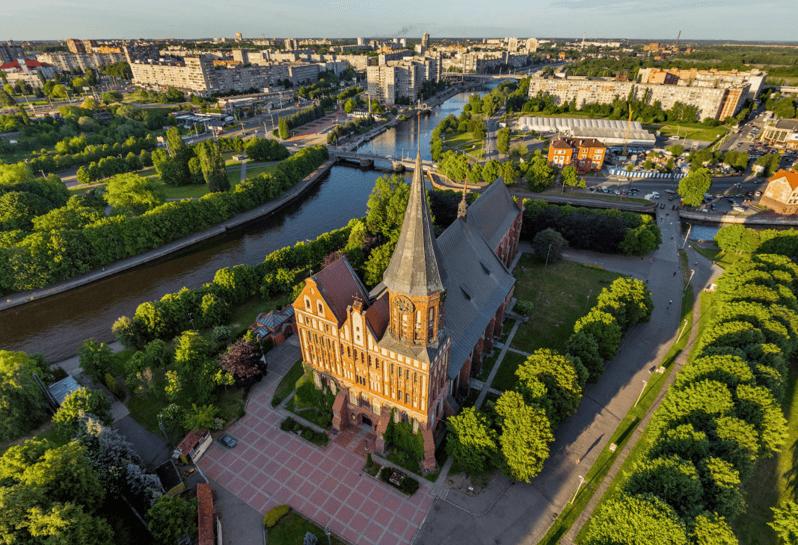 калининград кафедральный собор вид с воздуха