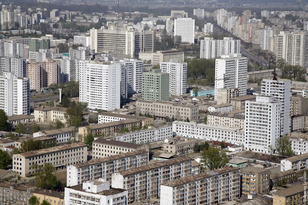 северная корея дома людей