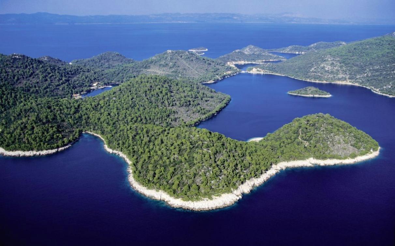 остров ластово в хорватии вид сверху