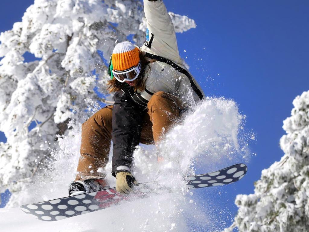 сноуборд трюк