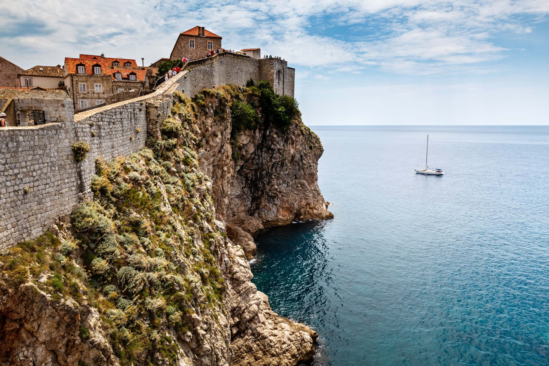 стены в дубровнике хорватия