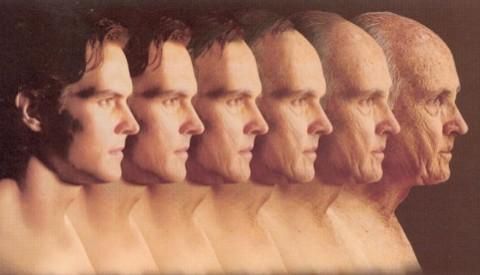 лицо стареющего человека
