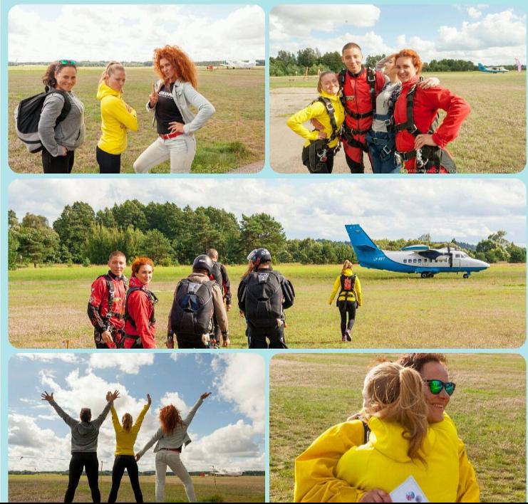 прыжки с парашютом в Литве