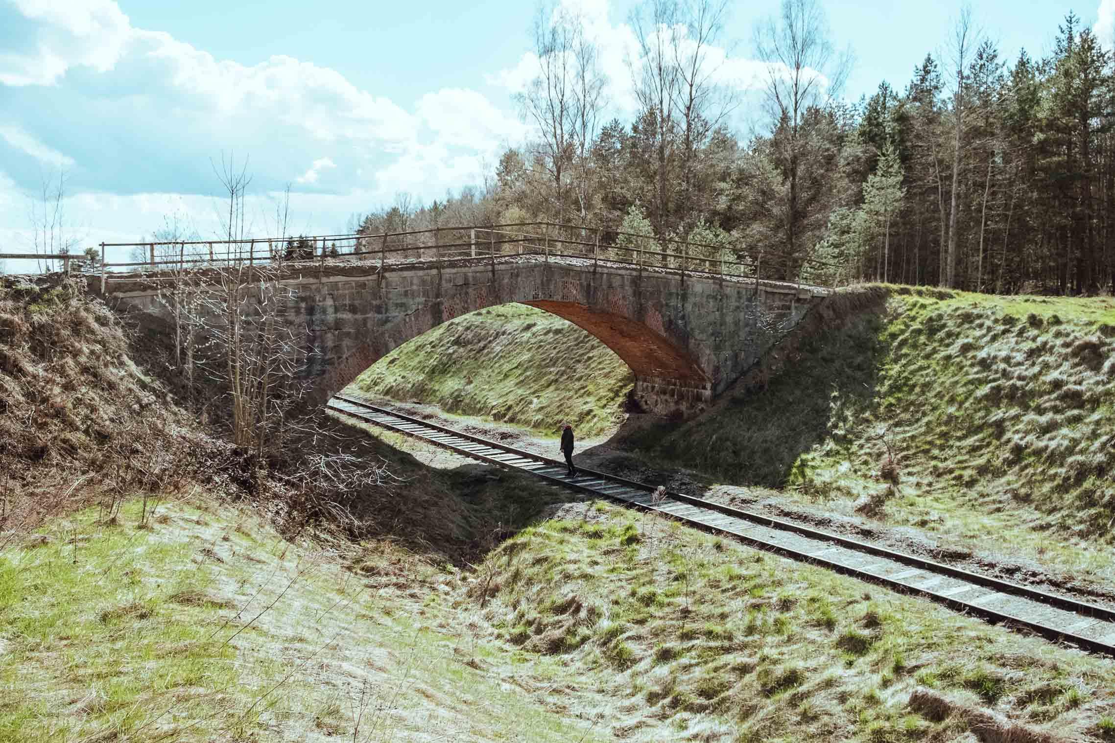 мост рядом с краснолесьем