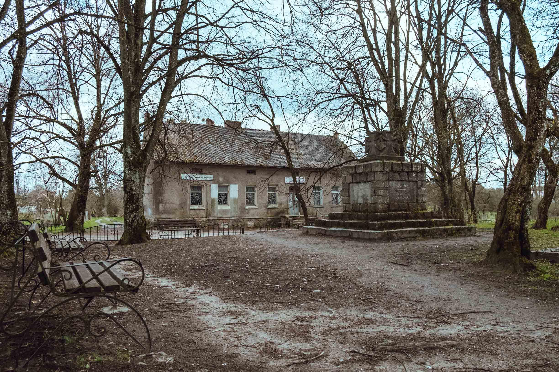 памятник павшим в первой мировой войне краснолесье калининградской области