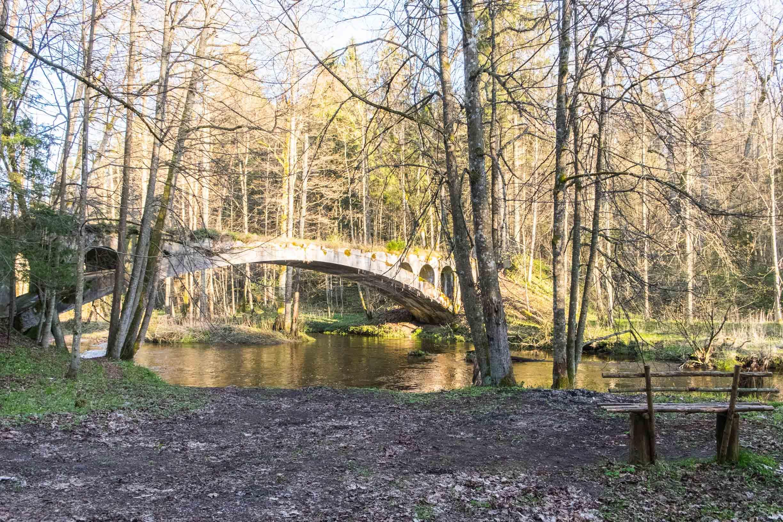 мост в роминтенской пуще
