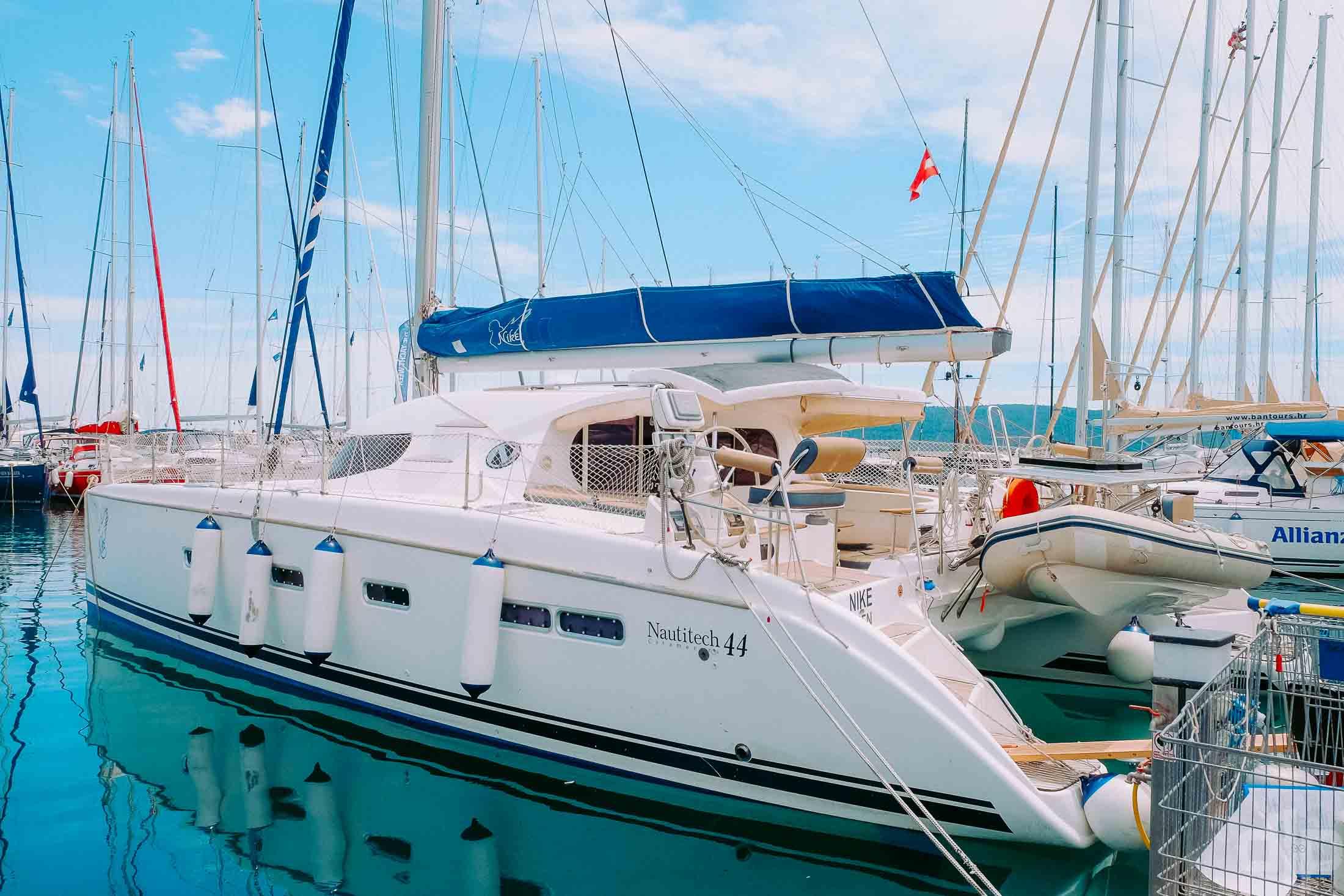 чартер яхты хорватия