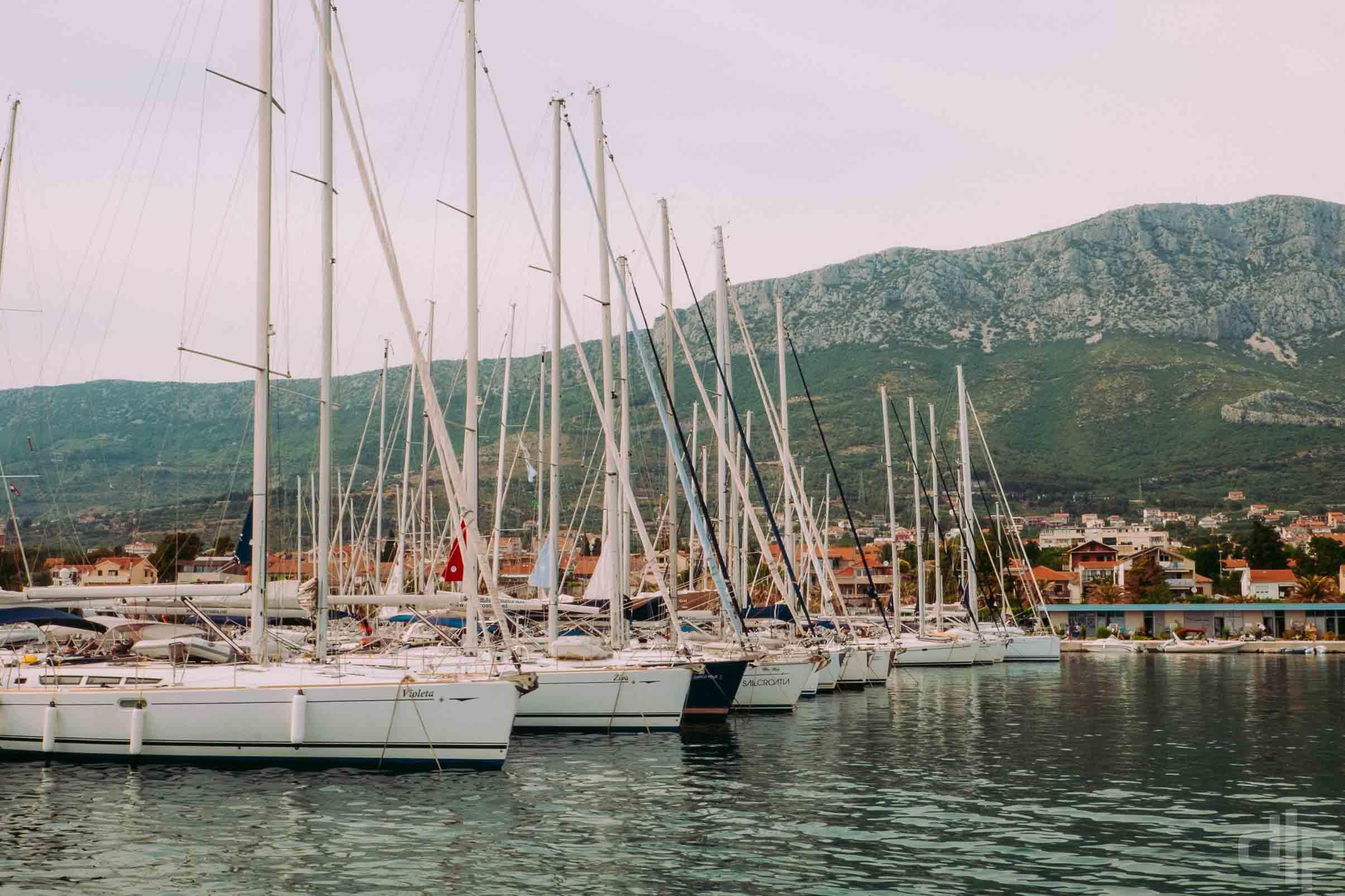 яхты в хорватии фото