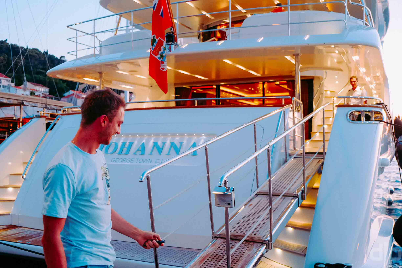 гаджеты на яхте