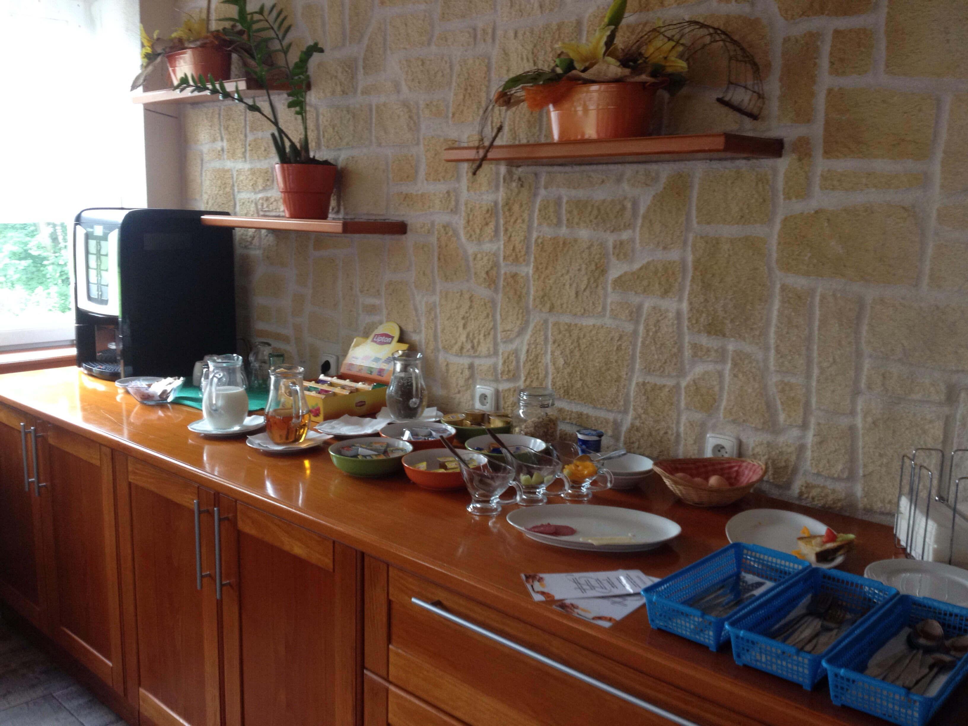 завтрак в отеле рудольф