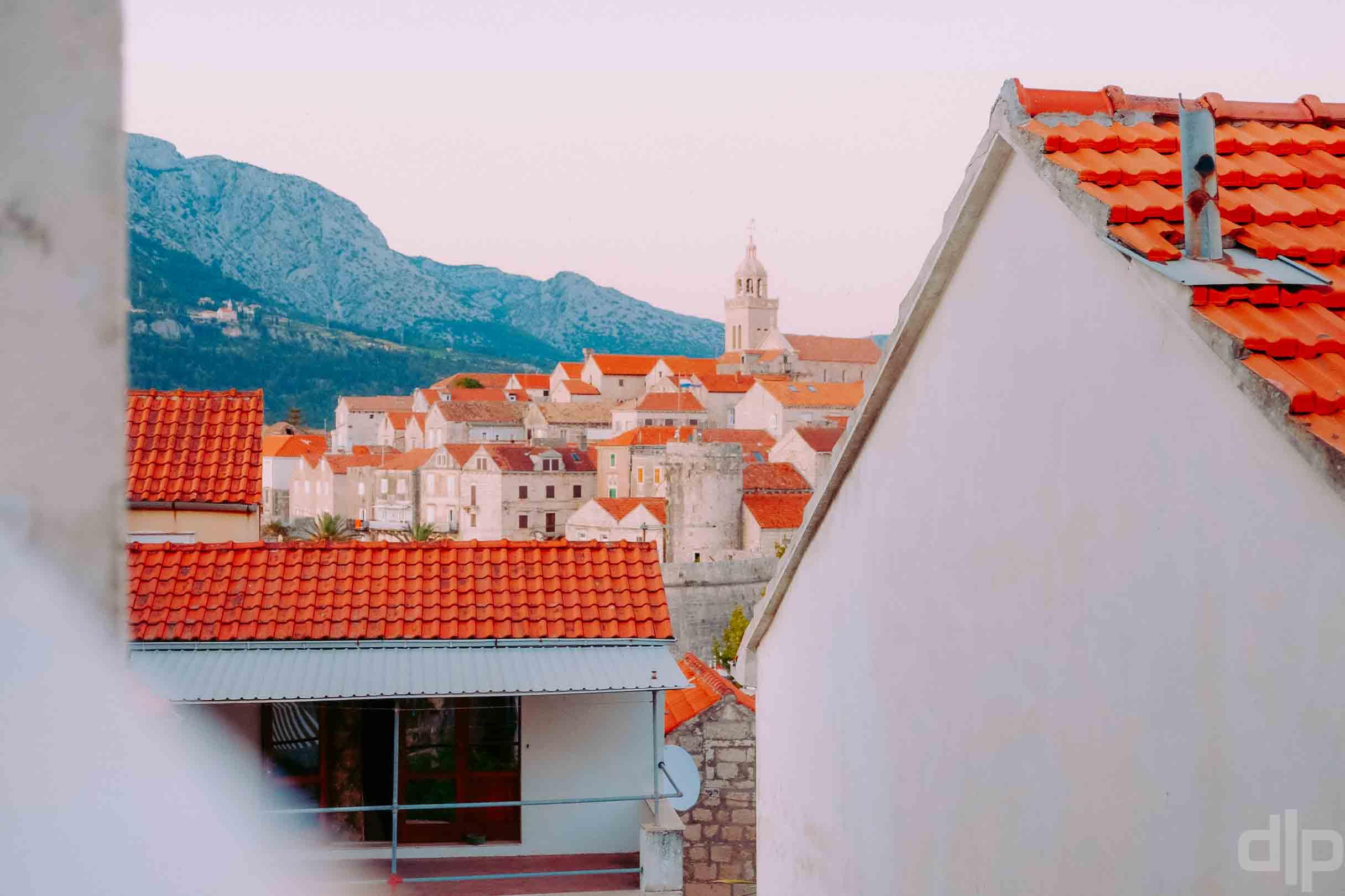 корчула старый город фото крыши