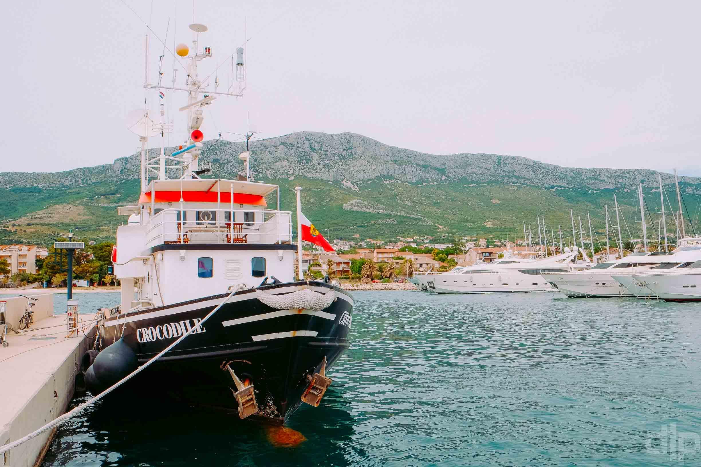 марина каштела порт хорватия