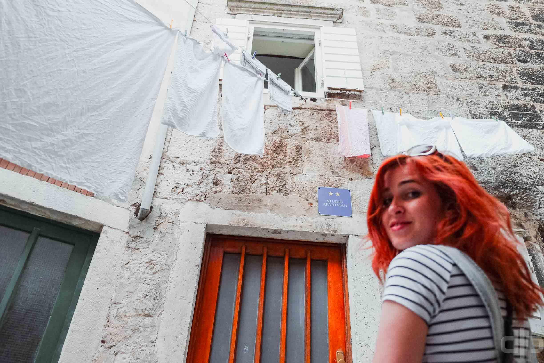 улицы корчулы хорватия фото