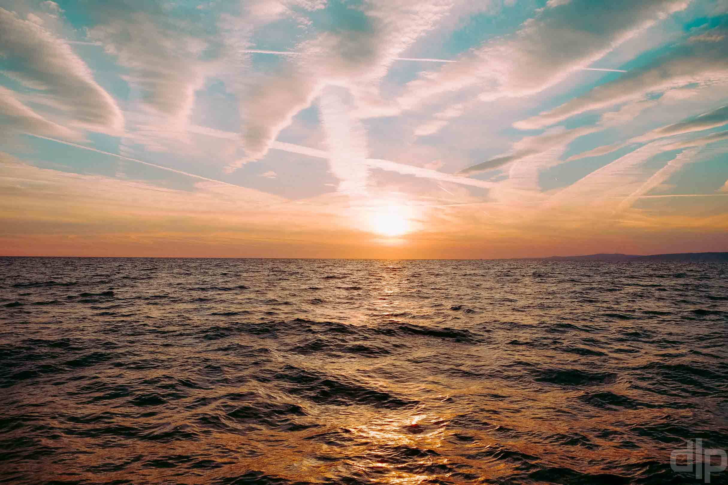 закат в Адриатике фото