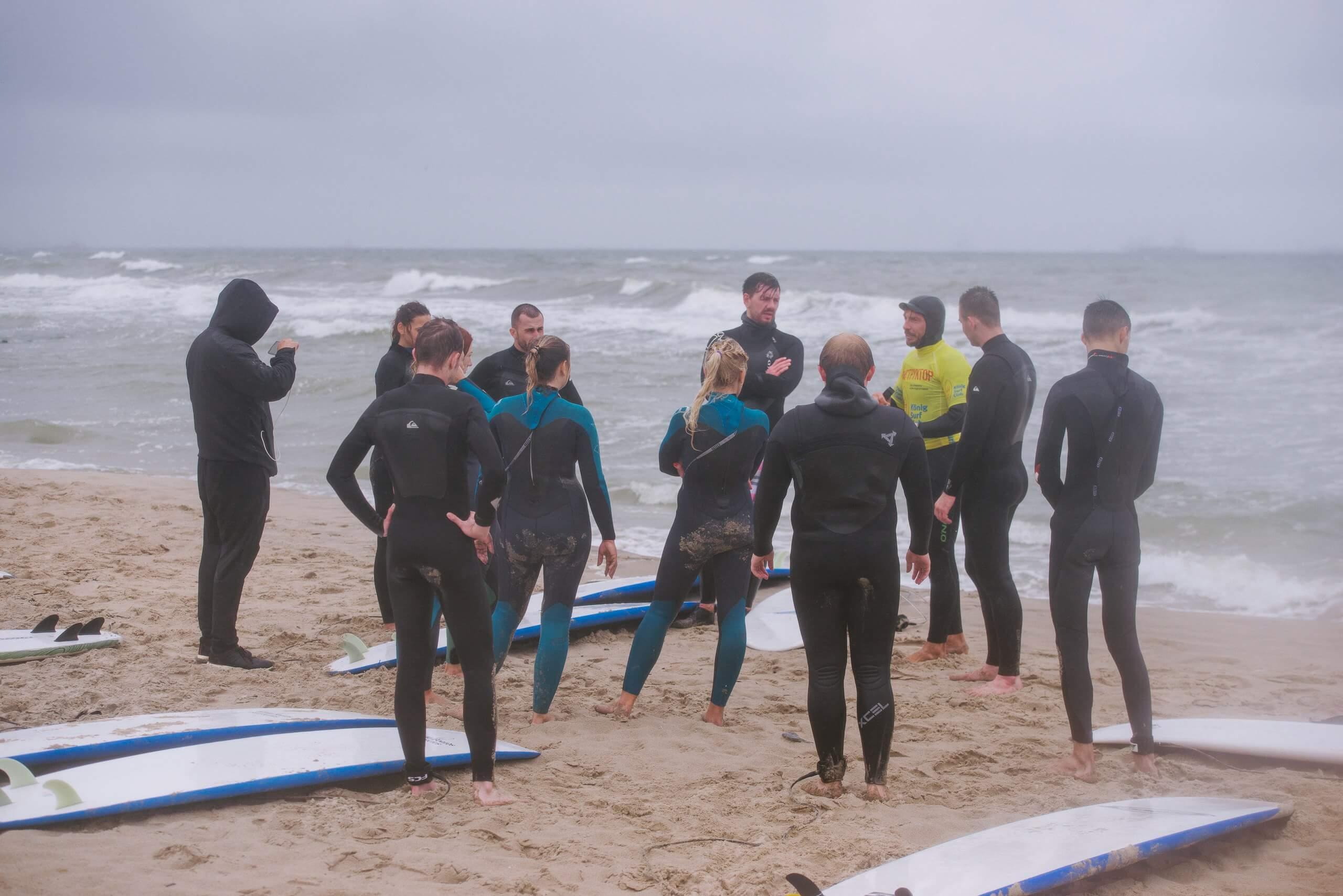 разбор полетов на серфинге в балтике