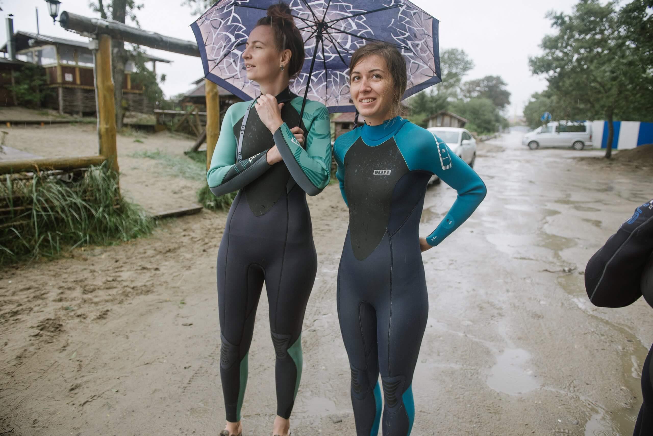 девочки на серфинге