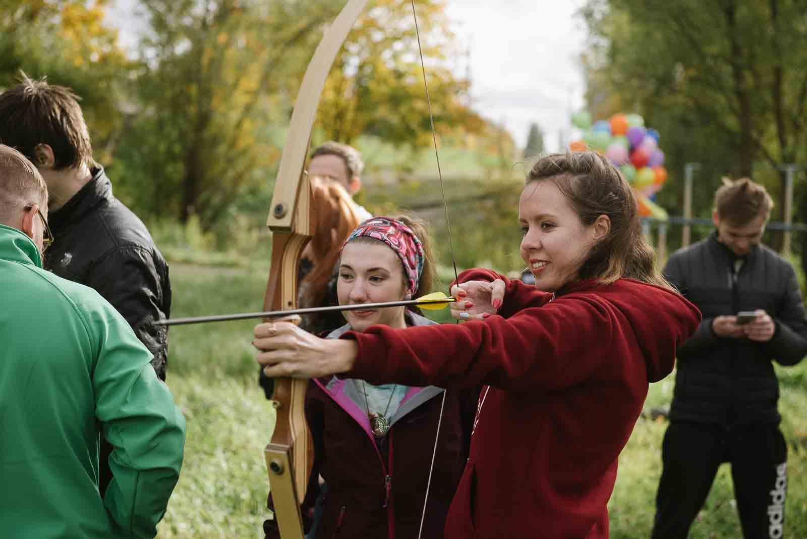 обучение стрельбе из лука в калининграде