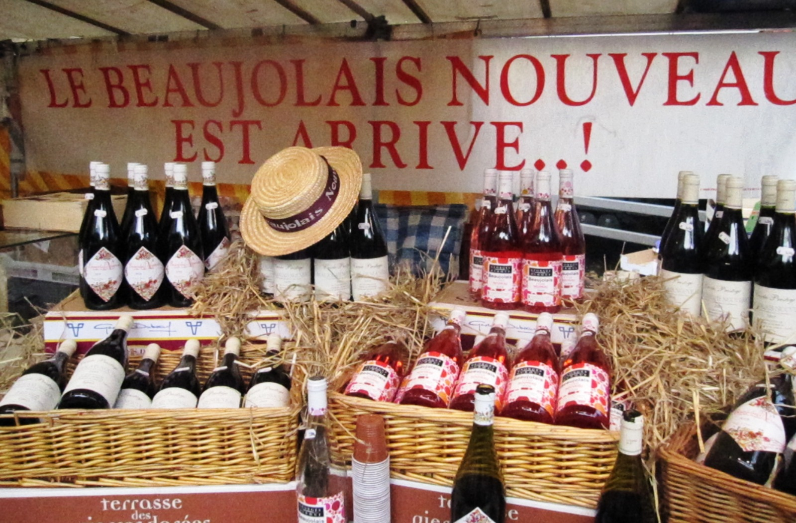 праздник вина во Франции