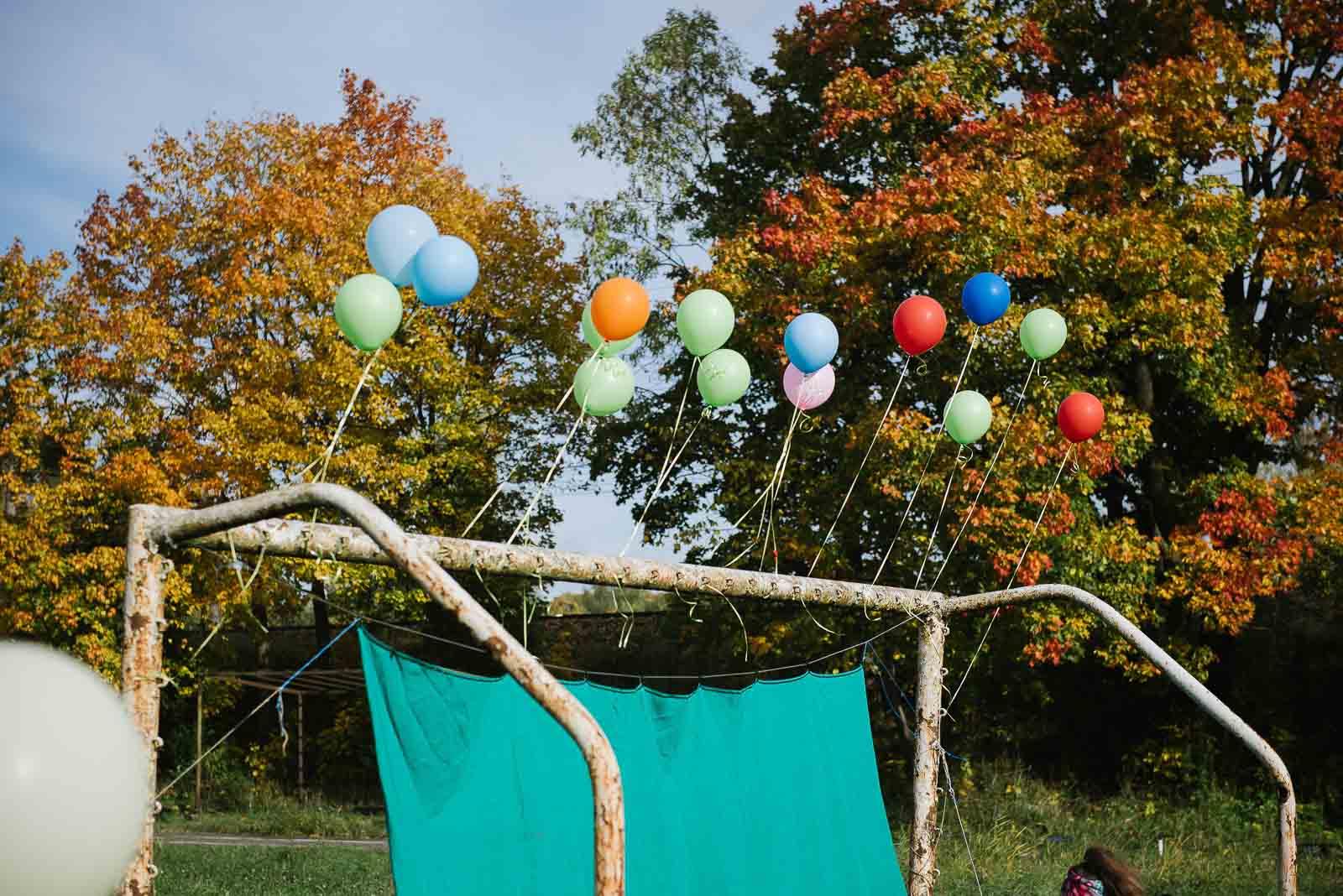 шарики с гелием для стельбы из лука