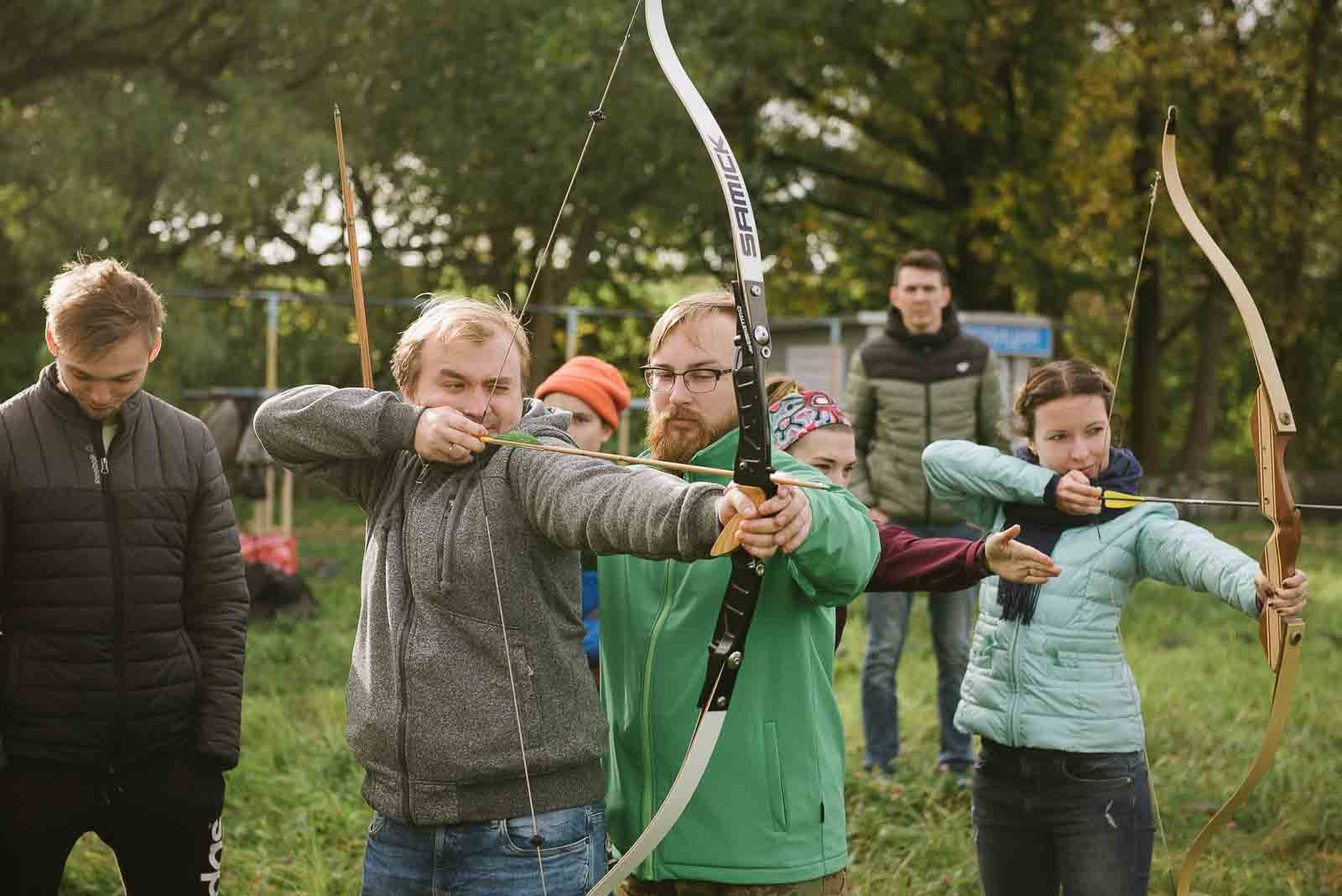тринити калининград лук и стрелы