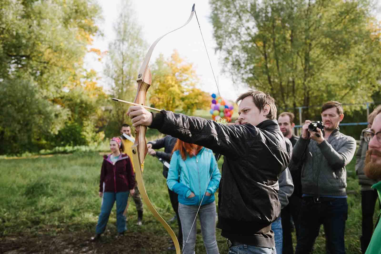 уроки стрельбы из лука