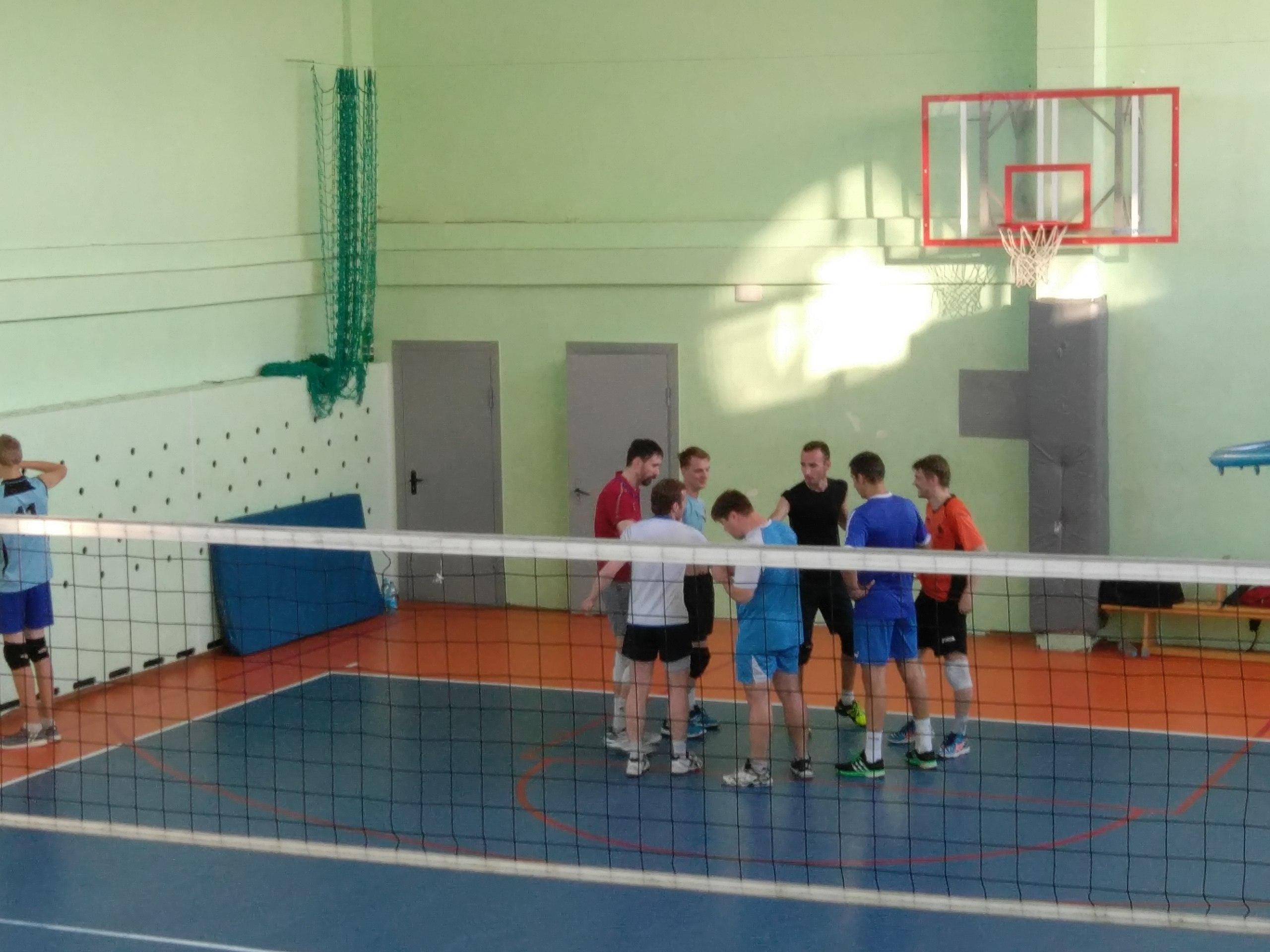 занятие волейбол калининград