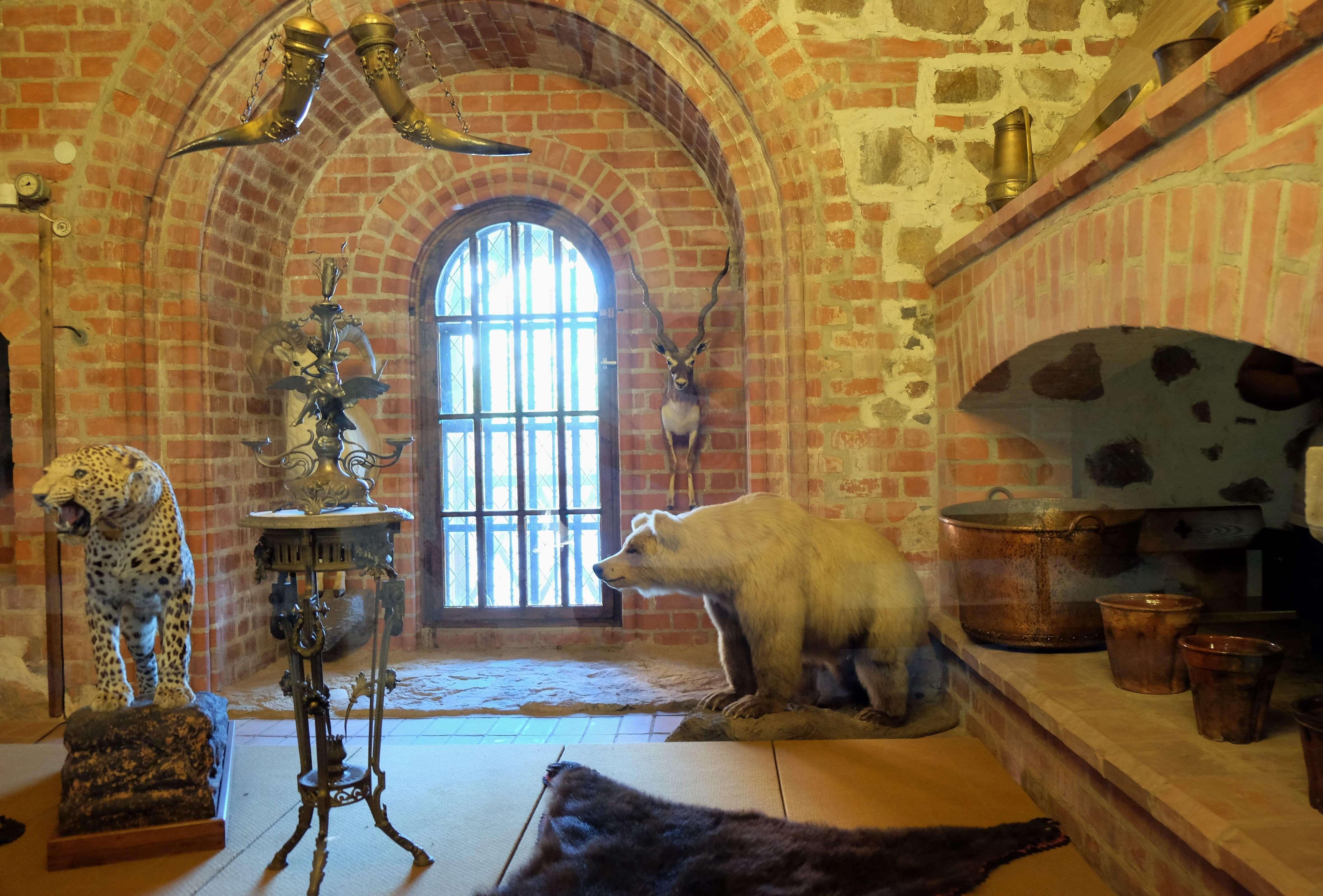 выставка экспозиция в тракайском замке