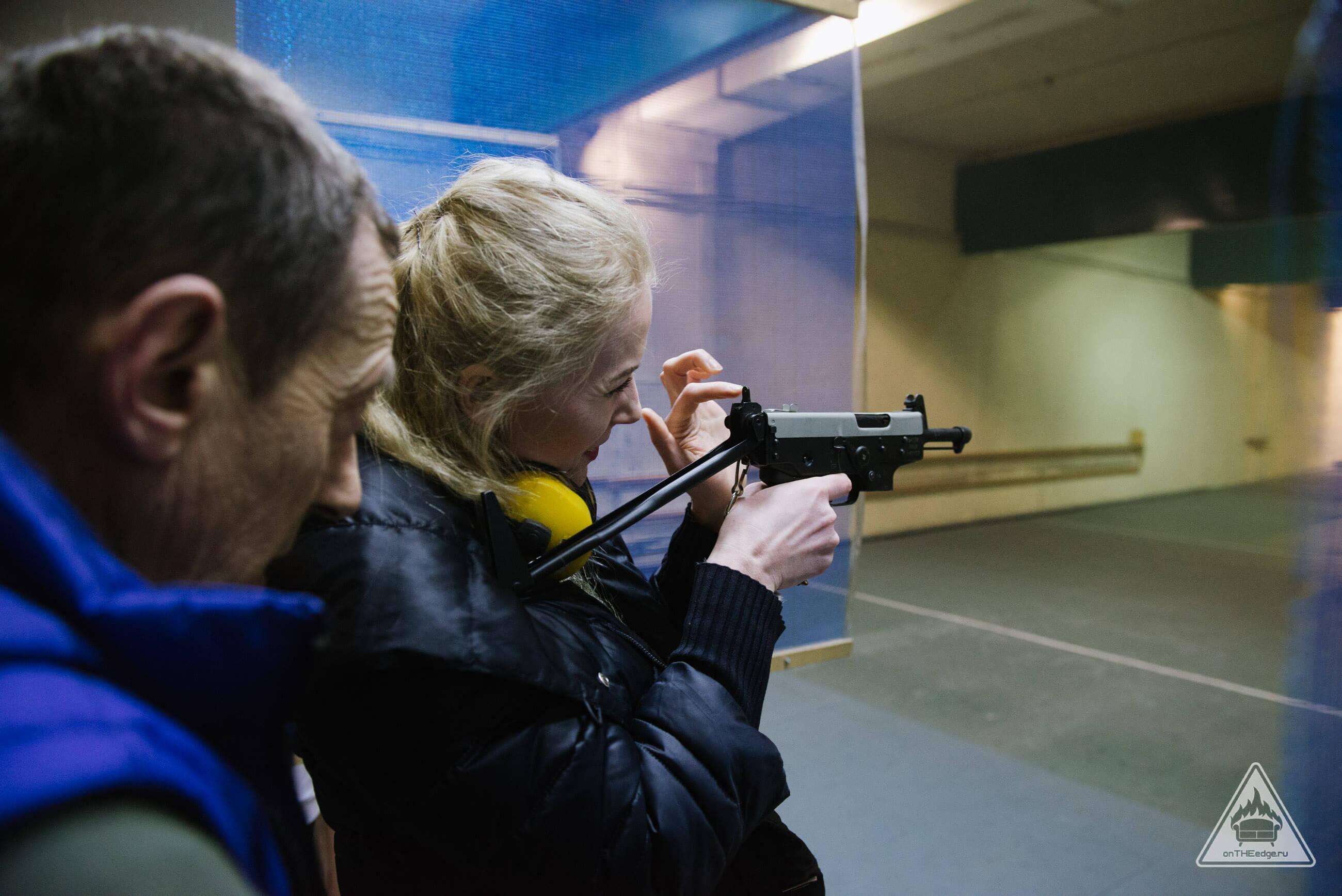 cтрельба из огнестрельного оружия