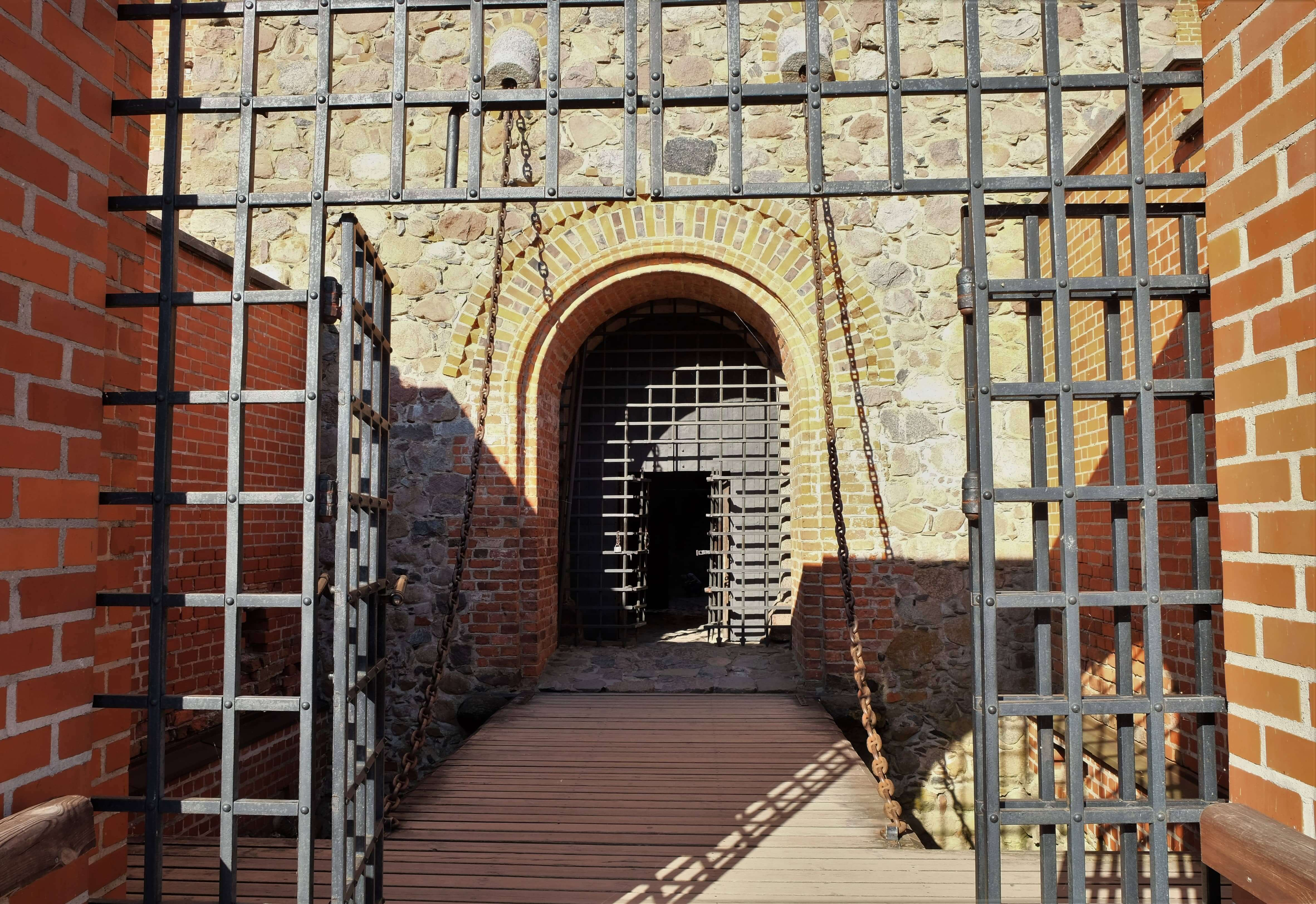 ворота тракайского замка