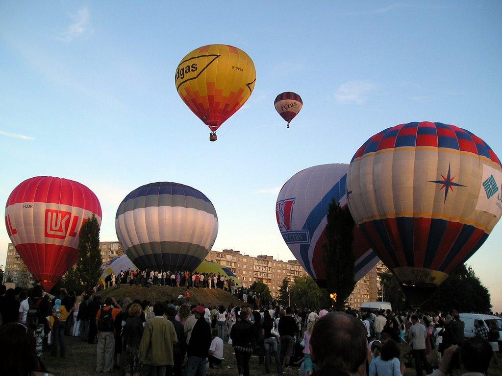 воздушные шары над калининградом