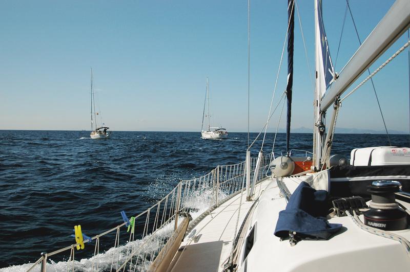 по островам Греции на яхте