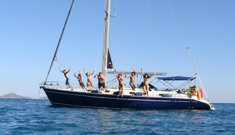 поход на яхте по греции