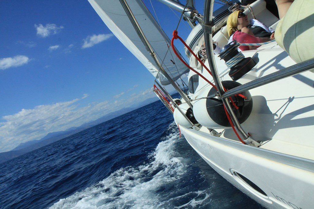 яхтинг в греции