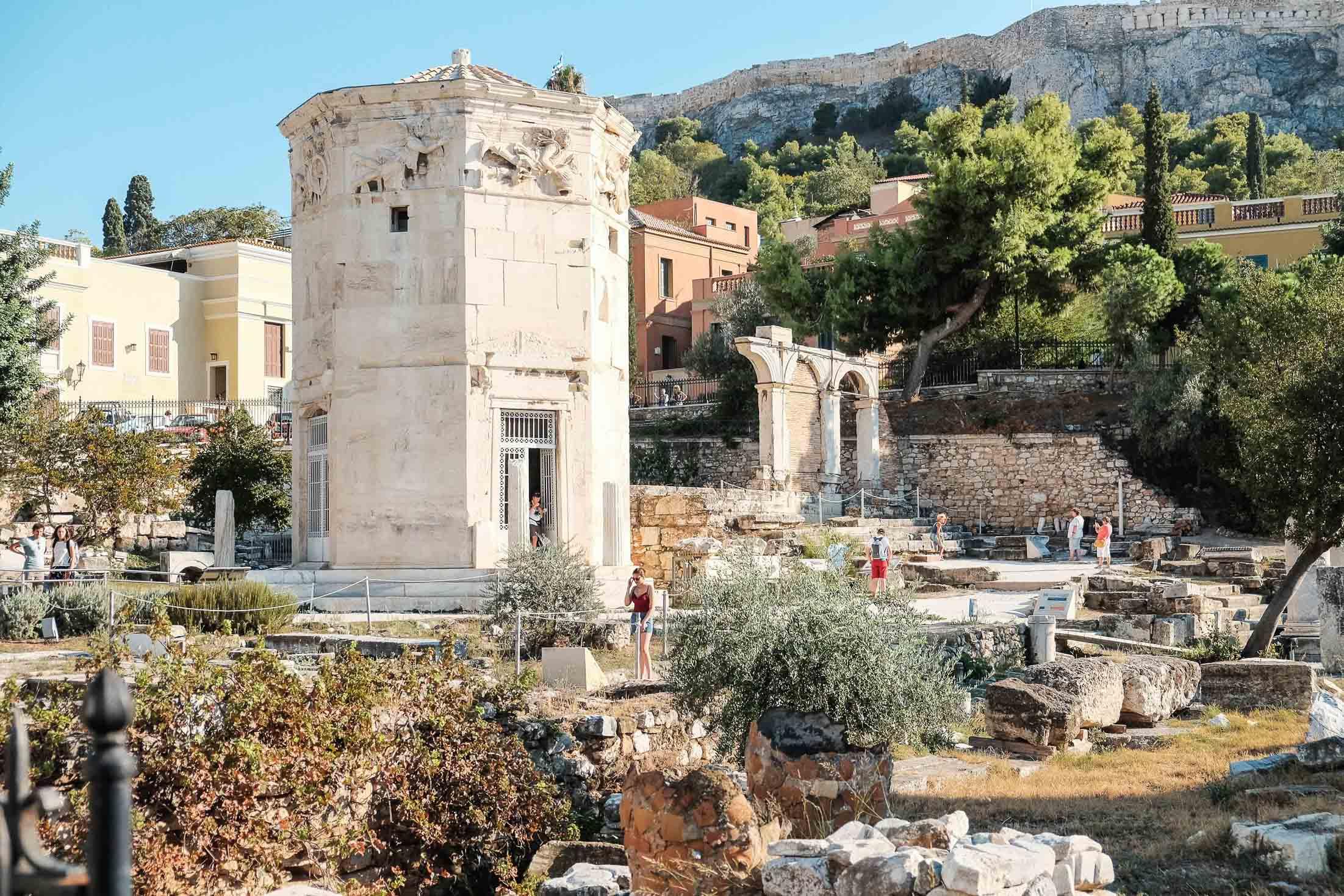 башня ветров Афины