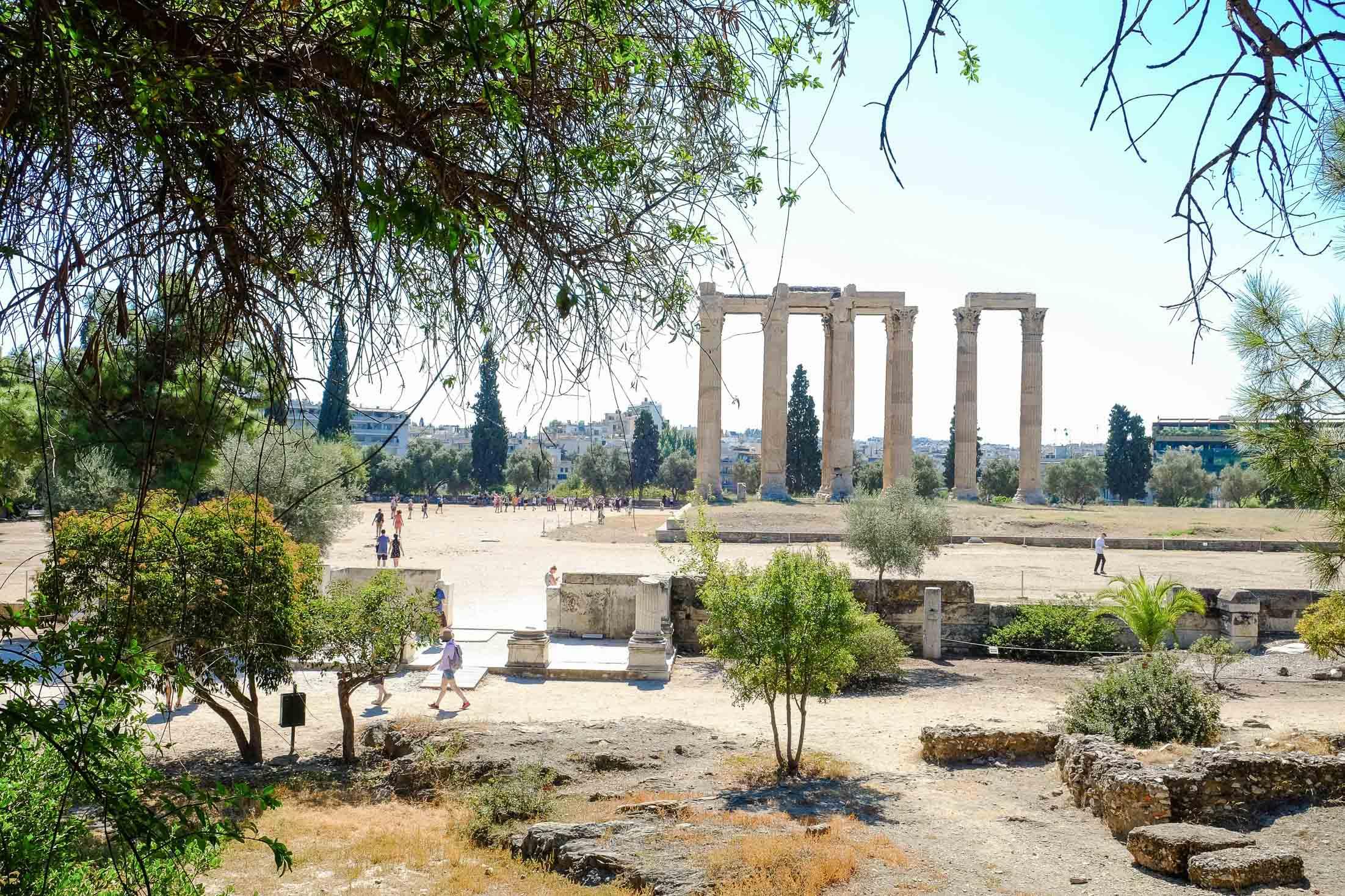 храм Зевса Олимпийского фото