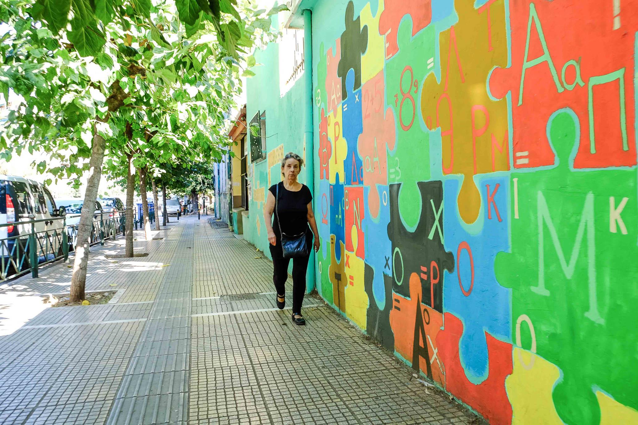 Граффити и стрит арт в Афинах