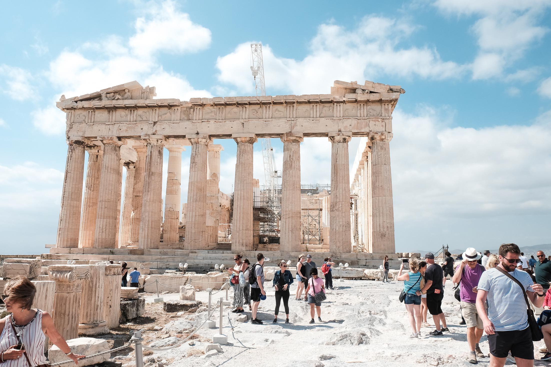 парфенон храм афины на акрополе