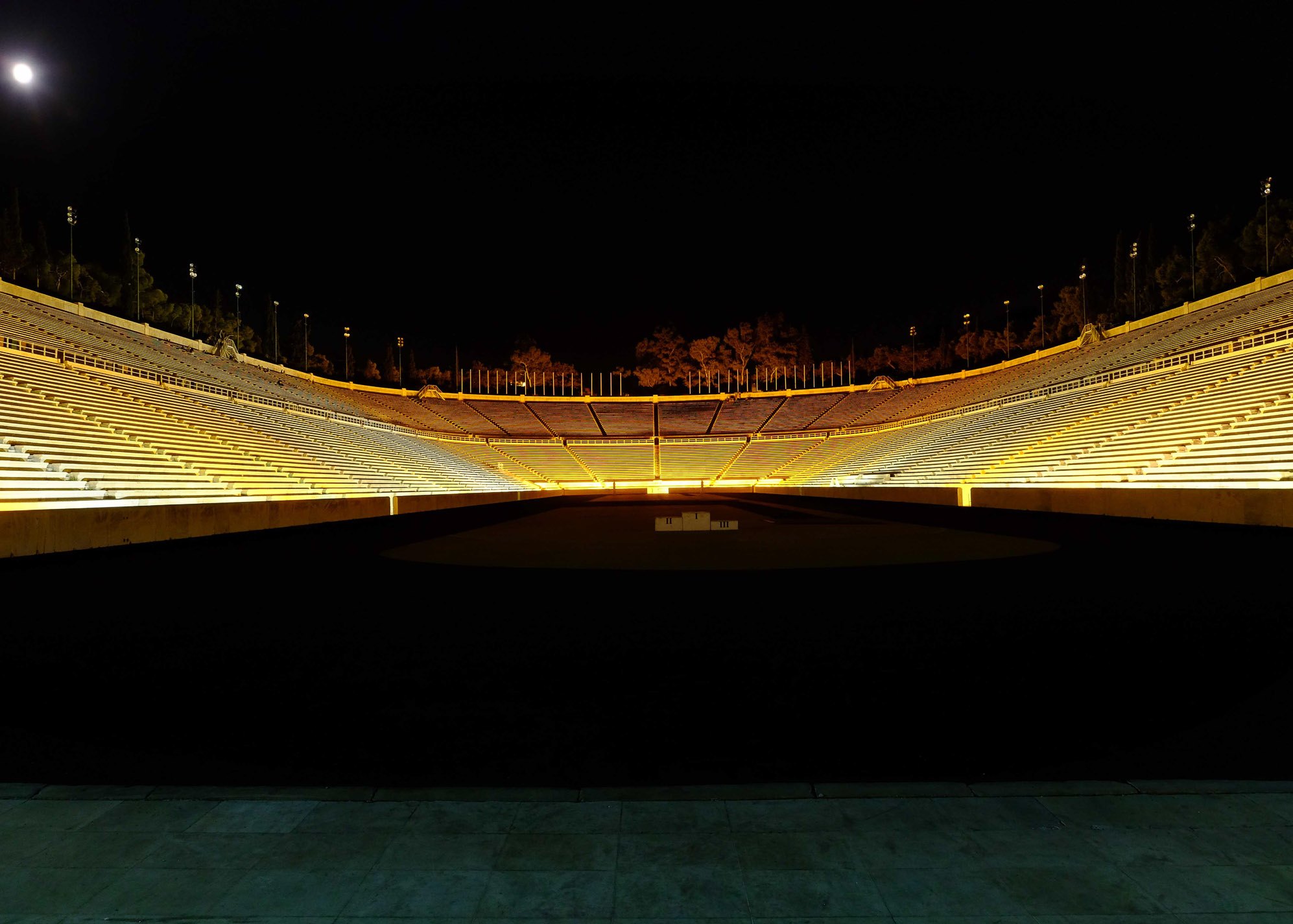 мраморный стадион афины