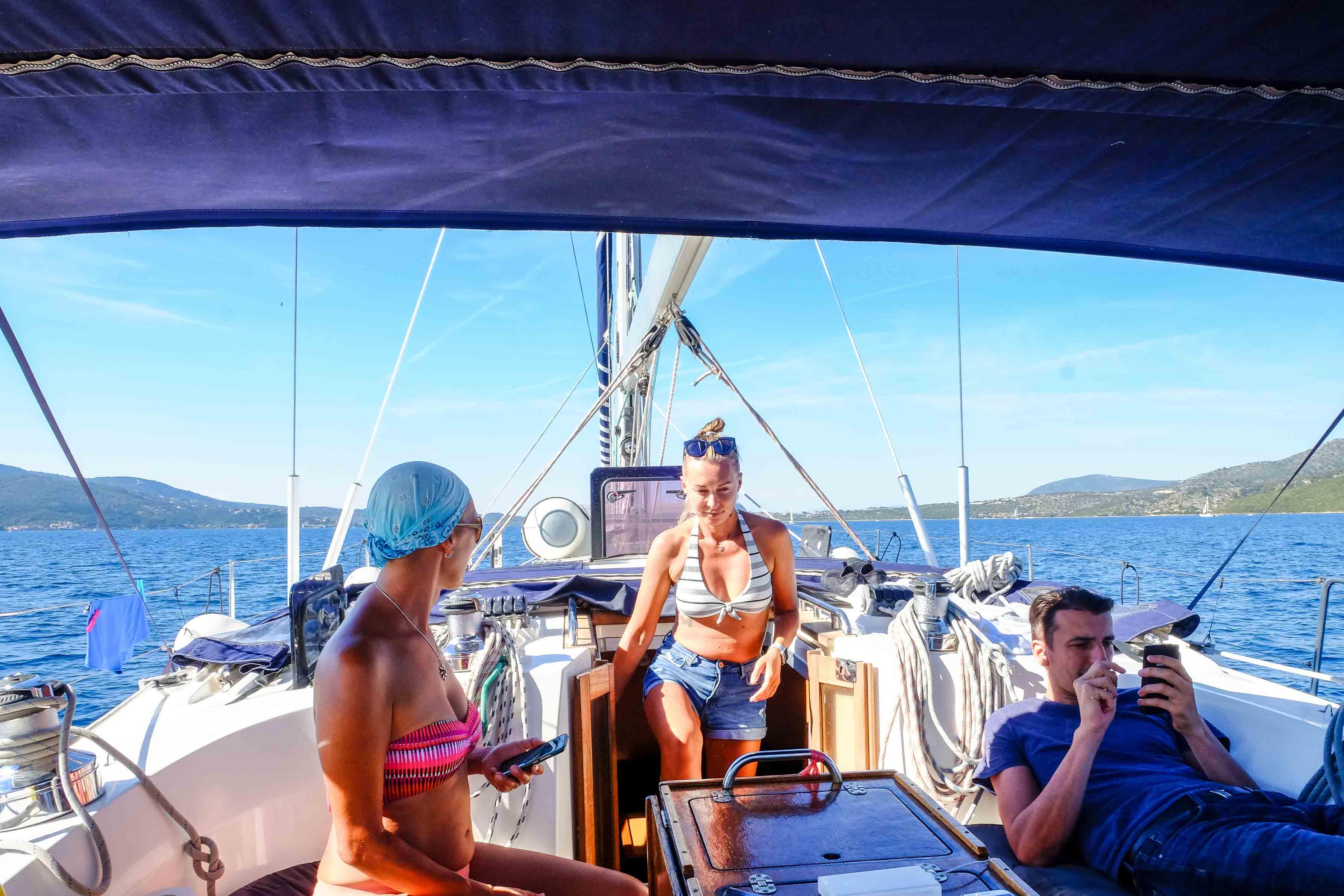 яхтинг в греции в ионическом море
